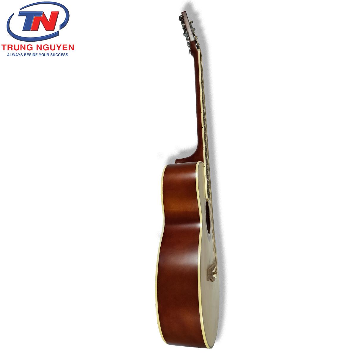 Guitar Acoustic Lankro LK 40. Nhạc cụ Trung Nguyên Chuyên Nhạc cụ