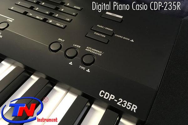 ĐÀN PIANO CASIO CDP 235R. Nhạc cụ Trung Nguyên Nhạc cụ, phụ kiện