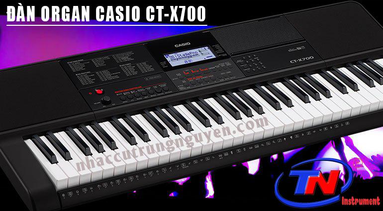 ĐÀN ORGAN CASIO CT-X700. Nhạc cụ Trung Nguyên|Nhạc cụ, phụ kiện