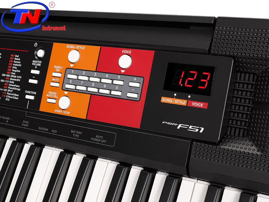 ĐÀN ORGAN YAMAHA PSR F51. Nhạc cụ Trung Nguyên|Nhạc cụ, phụ kiện