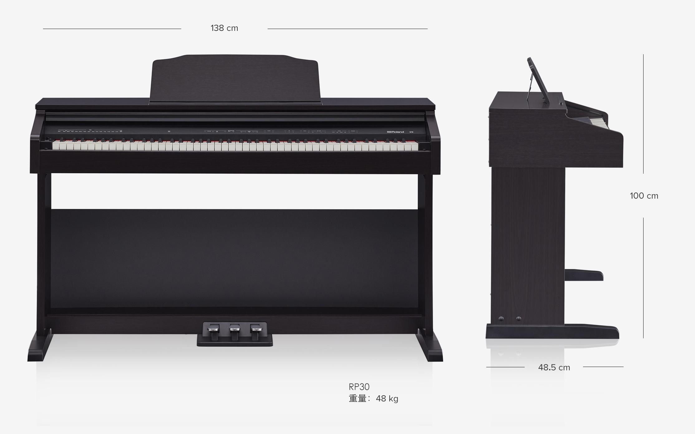 ĐÀN PIANO ĐIỆN ROLAND RP 30. Nhạc cụ Trung Nguyên Nhạc cụ, phụ kiện
