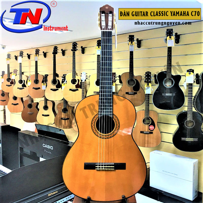 ĐÀN GUITAR CLASSIC YAMAHA C70. Nhạc cụ Trung Nguyên|Nhạc cụ, phụ kiện