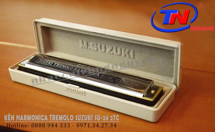 KÈN HARMONICA TREMOLO SUZUKI SU-24 2TC. Nhạc cụ Trung Nguyên