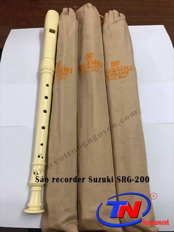 Sáo recorder Suzuki SRG-200. Nhạc cụ Trung Nguyên|Chuyên Nhạc cụ