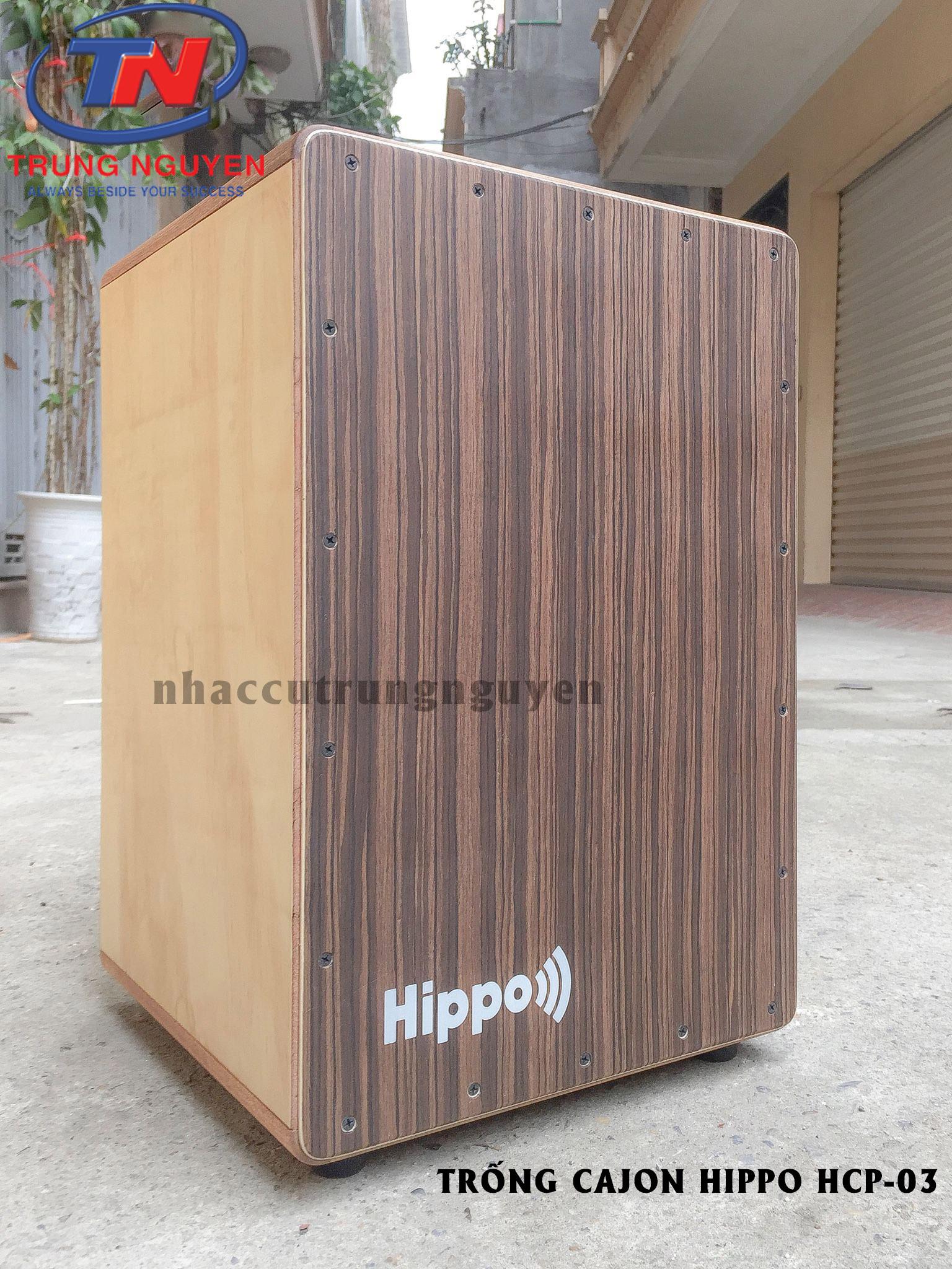 TRỐNG CAJON HIPPO HCP-03. Nhạc cụ Trung Nguyên Chuyên Nhạc cụ.