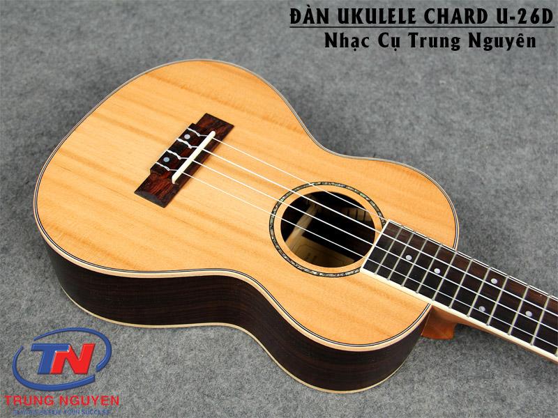 ĐÀN UKULELE CHARD U-26DNhạc cụ Trung Nguyên Chuyên Nhạc cụ